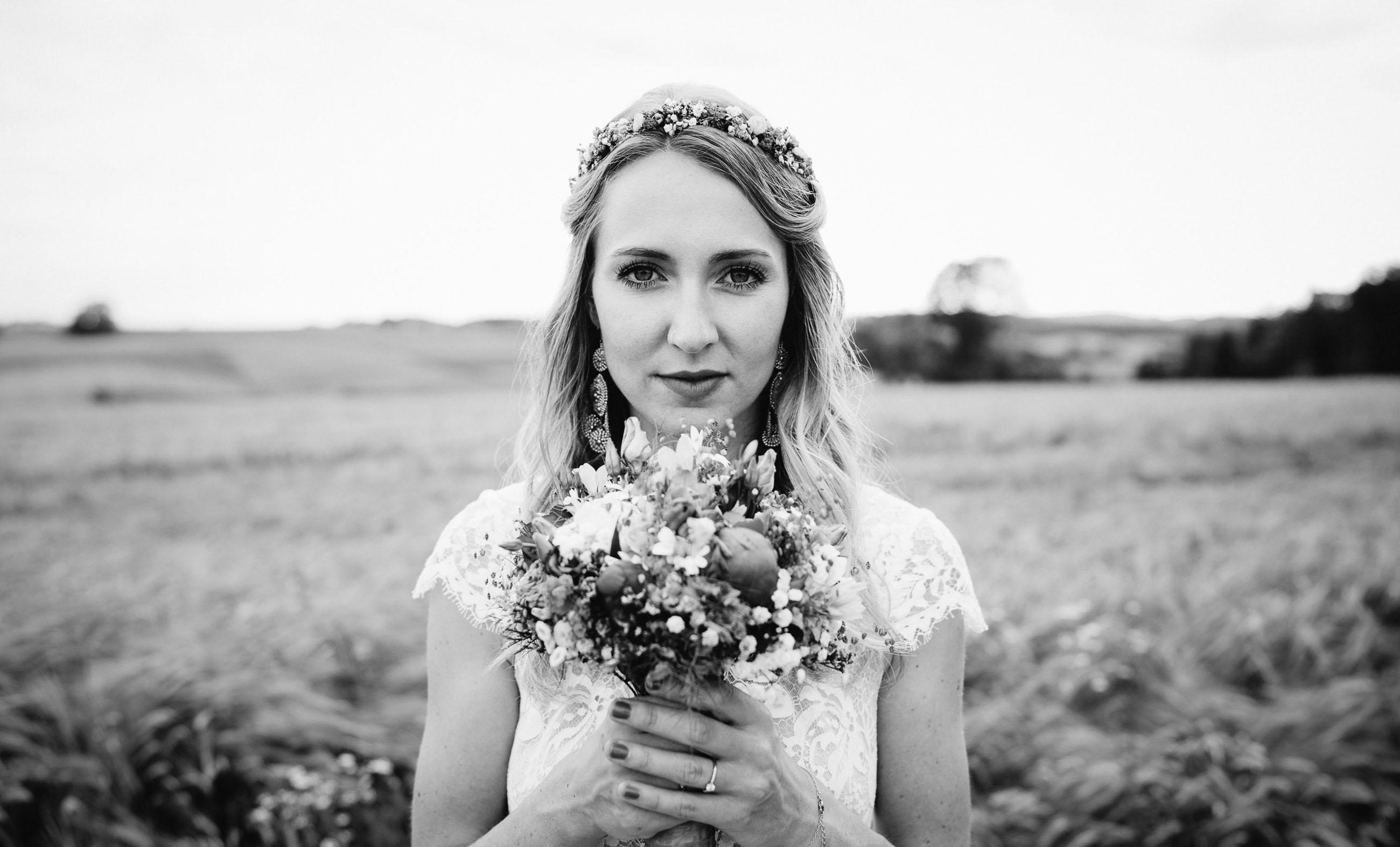 Hochzeitsfotograf schwarzweiß