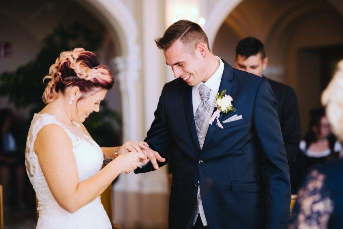 Hochzeitsfotografie Ringtausch