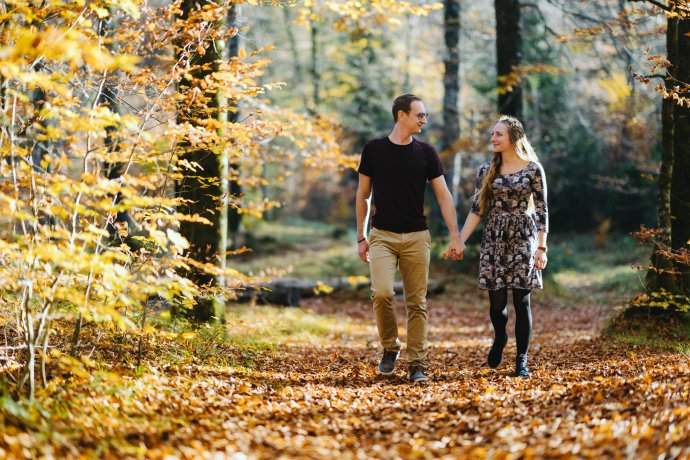 Paarfotografie Herbst